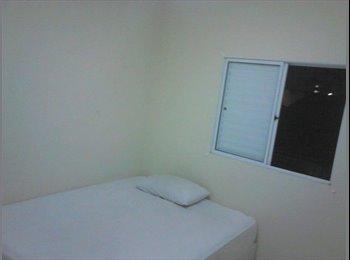 EasyQuarto BR - Quarto em apartamento próximo a GE / ALSTOM / FORD / Hospital São Lucas, Taubaté - R$ 650 Por mês