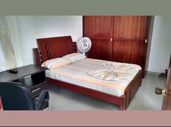 CompartoApto CO - Habitación amoblada con baño privado en colsag, Cúcuta - COP$550.000 por mes