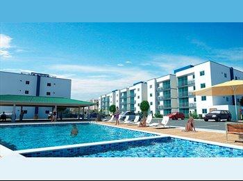 CompartoApto CO - Confortable   apartamento  con piscina , aires, parking, conjunto cerrado, Santa Marta - COP$600.000 por mes