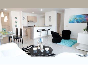 CompartoApto CO - Habitacion en apartamento piscina /Conjunto residencial / /parking, Santa Marta - COP$500.000 por mes