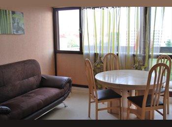 Appartager FR - Chambres meublées près du métro APL possible, Villeurbanne - 385 € /Mois