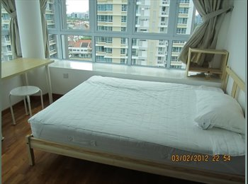 EasyRoommate SG - Central Big & Spacious Master bedrooms for Rent , Serangoon - $1,500 pm