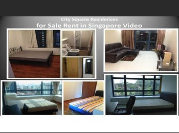 EasyRoommate SG - Rooms in Same Apartment | City Square, Serangoon - $1,300 pm