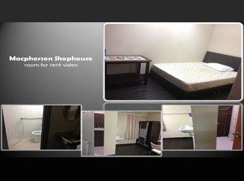 EasyRoommate SG - Macpherson Shophouse - Room for rent, Tai Seng - $900 pm