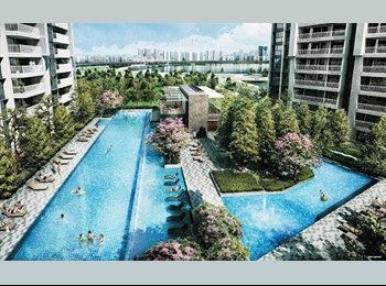 EasyRoommate SG - Common room ,1min to MRT,new Condo, Lakeside - $1,000 pm