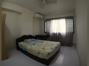 EasyRoommate SG - 2 common rooms available; All female; 230m from Pasir Ris Station, Pasir Ris - $750 pm