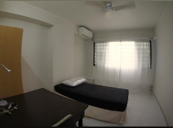 EasyRoommate SG - 2 Rooms for rent - 230m from Pasir Ris Station - All Female environment, Pasir Ris - $1,500 pm