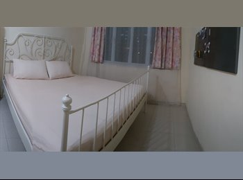 EasyRoommate SG - Clean room with fridge, Bartley & Taiseng Mrt within 10mins walk, King Bed, Tai Seng - $880 pm
