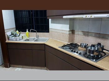EasyRoommate SG - NO OWNER staying! MASTER and common room at Eastpoint green condominium for rent!, Simei - $900 pm