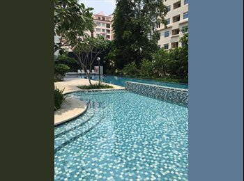EasyRoommate SG - [SKYLINE 360] Cosy Common Room at St Thomas Walk, River Valley - $1,200 pm
