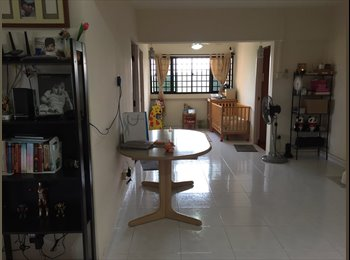 EasyRoommate SG - Common room available with an Indian family, Pasir Panjang - $1,100 pm