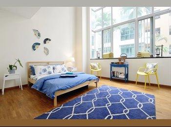EasyRoommate SG - Massive bedroom with massive bathroom (with optional attic space) 2 Mins from Paya Lebar MRT, Paya Lebar - $2,000 pm