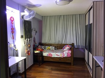 EasyRoommate SG - For rent near Pasir Ris Mrt nicely renovated and clean room , Pasir Ris - $700 pm
