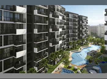 EasyRoommate SG - Brandnew condo on top of shopping mall / Roomates or Guardians for foreign student / Thai Family, Khatib - $1,200 pm