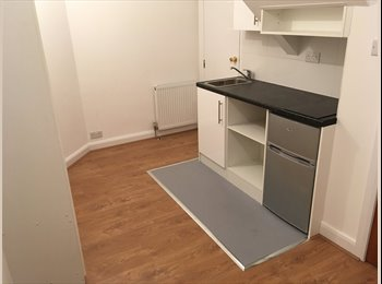 EasyRoommate UK - Brand New Converted 1st Floor Studio BedRoom Open Kitchen SeparateShowerWC Garden Drive InclludesBil, Northolt - £750 pcm