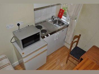 EasyRoommate UK - A Single Semi-Studio Flat within a Large Victorian House, West Kensington - £368 pcm
