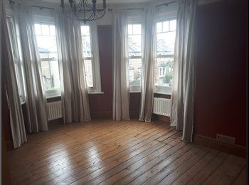 EasyRoommate UK - Large double room in v. spacious 2-bed flat with garden, Surbiton - £700 pcm