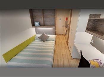 EasyRoommate UK - Studio Apartment Newcaslte 1 Derwent Students Accommodation, Newcastle upon Tyne - £556 pcm