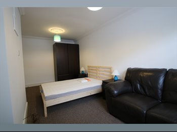 EasyRoommate UK - Large room in friendly house, suitable for couple or single person (37M1), Milton Keynes - £570 pcm