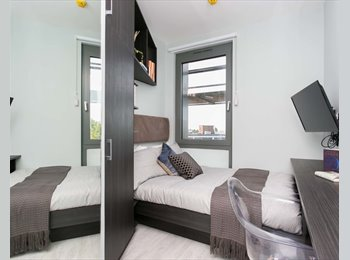 EasyRoommate UK - ENSUITE STUDIO ROOM  **AVAILABLE 1ST AUG - ALL BILLS & CLEANING INCLUDED**, Harlesden - £1,213 pcm