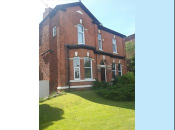 EasyRoommate UK - Double bedroom and lounge suite - must love dogs - £125 pw negotiable, bills incl., Southport - £540 pcm