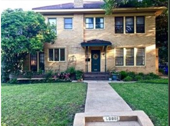 EasyRoommate US - Really Great House Share on M streets - Available Immediately!, Lower Greenville - $900 pm