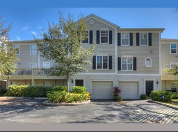 EasyRoommate US - Beautiful South Tampa Townhome, Tampa - $1,000 pm