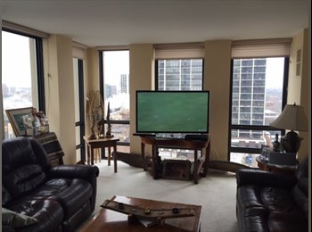 EasyRoommate US - OLD TOWN - Seeking Roommate- High Rise- Great Views , Old Town Triangle - $1,200 pm