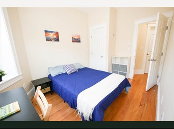 EasyRoommate US - Summer in Boston Room Available in a 4 bedroom/ 2 bath/ + living room, Mission Hill - $1,390 pm