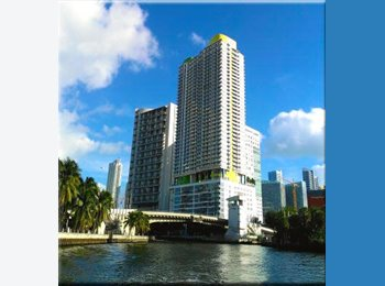 EasyRoommate US - Enjoy Miami and a cool roommate in Brickell, Downtown - $1,250 pm