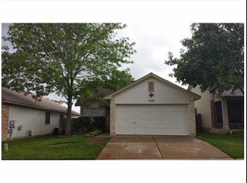 EasyRoommate US - 2bd/1ba available for you in a choice 3bd/2ba house, Hutto - $650 pm