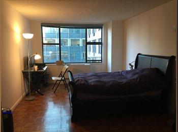 EasyRoommate US - Studio sized flex room 12x17 Prime Location Doorman Building , Theater District - $1,738 pm