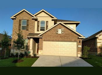 EasyRoommate US - Looking For Roommates in Brand New Home, Pflugerville - $650 pm