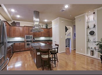 EasyRoommate US - $900 / 2400ft2-Heights/Cottage Grove Room in Nice 3/3.5 Home , Washington Ave./ Memorial Park - $900 pm