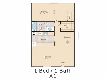 EasyRoommate US - Couch to sleep , Camelback East Village - $250 pm