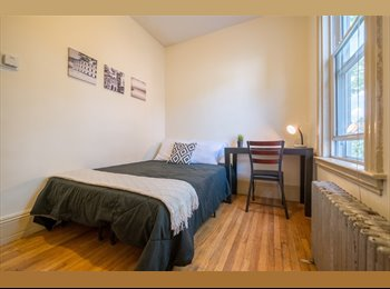 EasyRoommate US - Walk to Harvad Med in 10 minutes! Flexible Lease Furnished Room, Mission Hill - $1,180 pm
