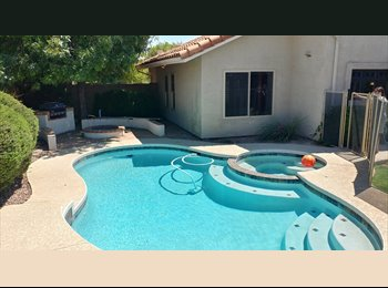 EasyRoommate US - Three Rooms in Beautiful South Tempe House For Rent, Guadalupe - $550 pm