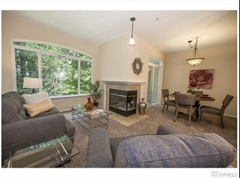 EasyRoommate US - 雅房出租 Looking for a housemate to share a 2 bed 2.5 ba, Issaquah - $980 pm