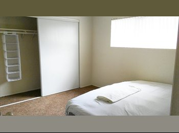 EasyRoommate US - Spacious Clean Bedroom with Closet **Utilities Included** Wifi , Showboat - $550 pm