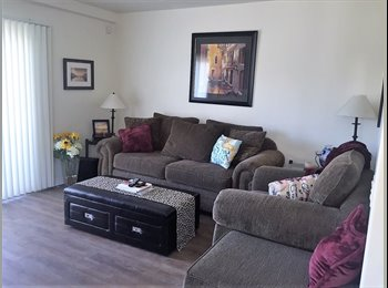 EasyRoommate US - LARGE MASTER BED ROOM WITH OWN BATHROOM CENTRAL HEAT AND A/C, Pacific Beach - $1,250 pm