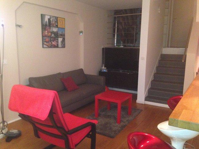Colocation bezons duplex style loft 4 chambres meubl es appartager - Colocation loft paris ...