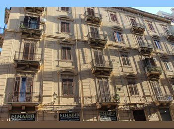 EasyStanza IT - Stanze in affitto in appartamento via Milano nei pressi della Stazione Centrale, Palermo - € 170 al mese
