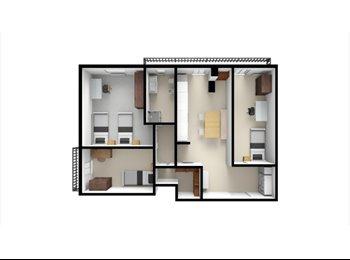 EasyStanza IT - Affitto 3 stanze zona Don Bosco, Don Bosco-Cinecitta' - € 360 al mese