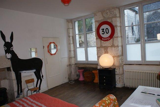 Colocation à Bourges - chambre meubler chez l'habitant , 17 m2 , hyper centre ville . | Appartager - Image 2