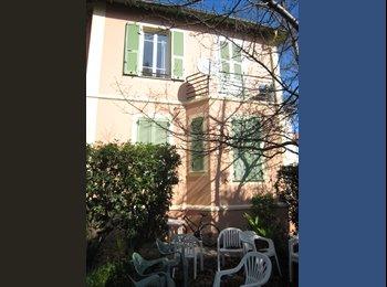 Appartager FR - chambre meublée ds villa avec grand jardin, Nice - 480 € /Mois