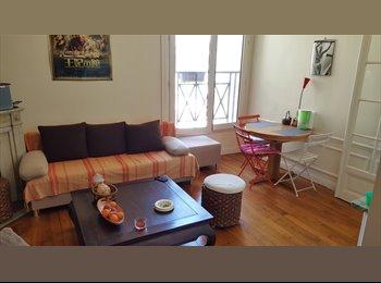 Appartager FR - Chambre à louer dans appartement de 4 pièces en colocation à Gare du Nord, 10ème Arrondissement - 600 € /Mois