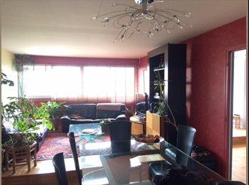 Appartager FR - Chambre dans grand appartement très proche Lyon, Caluire-et-Cuire - 400 € /Mois