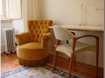 EasyQuarto PT - Very comfortable single room  in downtown that includes a study room, Lisboa - 380 € Por mês