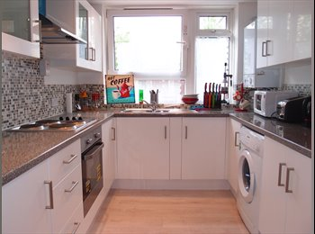 EasyRoommate UK - 3 bedroom available in modern flat, Forest Gate - £580 pcm