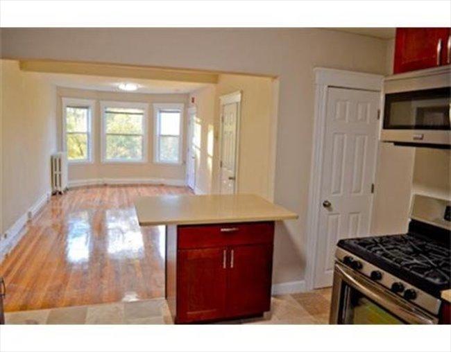 Empty Apartment Bedroom room for rent in egleston square - jamaica plain renovated